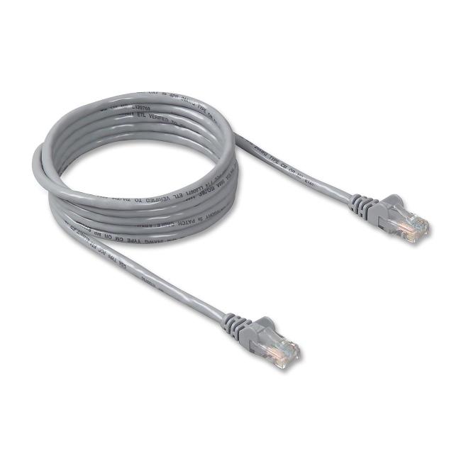 Black Box C5EPC70S-GY-15 Pack of 12 pcs CAT5e Shielded PVC Cable